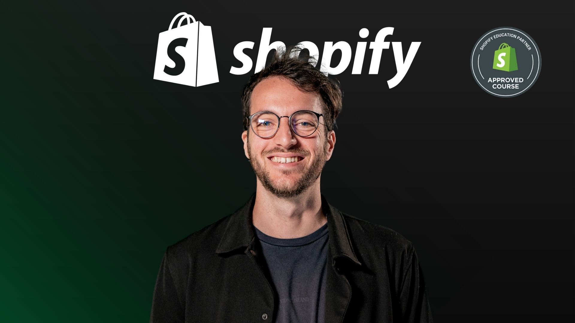 Copertina corso Shopify
